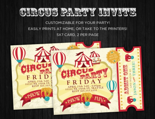Circus-Party